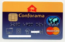 MASTERCARD Conforama Portugal Cetelem Credit Card Carte De Credit - Krediet Kaarten (vervaldatum Min. 10 Jaar)