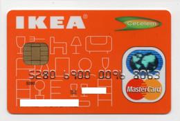 MASTERCARD Ikea Portugal Cetelem Credit Card Carte De Credit - Krediet Kaarten (vervaldatum Min. 10 Jaar)