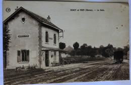 SERZY ET PRIN(Marne).—LA GARE - Zonder Classificatie