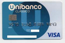 VISA Unibanco Portugal Credit Card Carte De Credit - Krediet Kaarten (vervaldatum Min. 10 Jaar)