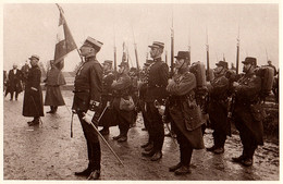Remise Du Drapeau Des Chasseurs Au 10e Bataillon, Lunéville 1913 - Regimientos
