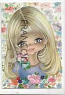 Big Eyes. Petite Fille Blonde. 1977 - Non Classés