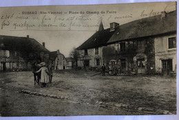 SUSSAC(Hte-Vienne)—Place Du Champ De Foire - Andere Gemeenten