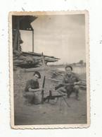 Photographie , 90 X 60 Mm,militaria , HAIPHONG ,TONKIN ,1947 , 2 Scans, Armes - Oorlog, Militair