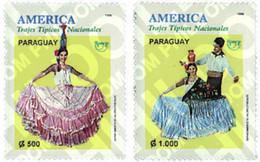 Ref. 30984 * MNH * - PARAGUAY. 1996. AMERICA-UPAEP. REGIONAL COSTUMES . AMERICA-UPAEP 1996 -  TRAJES REGIONALES - Altri