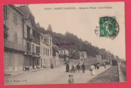 22 - SAINT BRIEUC----Sous La Tour--Les Villas---animé - Saint-Brieuc