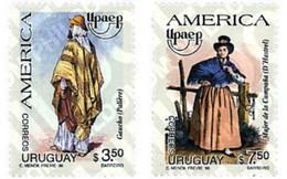 Ref. 30587 * MNH * - URUGUAY. 1996. AMERICA-UPAEP. REGIONAL COSTUMES . AMERICA-UPAEP 1996 -  TRAJES REGIONALES - Altri