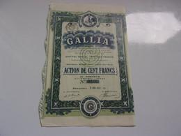 GALLIA (1917) Béziers HERAULT - Unclassified