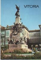 Postal E00465: Monumento A La Independencia, Vitoria - Unclassified