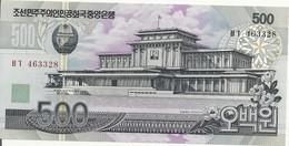 COREE DU NORD 500 WON 1998(2007) UNC P 44 C - Korea, North