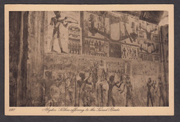 114532/ ABYDOS, Temple Of Seti I, *Sethos Offering To The Sacred Boats* - Autres