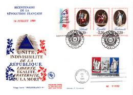 FRANCE / ENVELOPPE FDC N°T2756 LIBERTE-EGALITE-FRATERNITE - 1980-1989