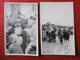 SAINTES MARIES DE LA MER GARDIANS GITANS PROCESSION SAINTE SARA CARTE PHOTO - Saintes Maries De La Mer