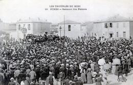 30  NIMES  LES TROUBLES DU MIDI  SERMENT DES FEDERES - Nîmes