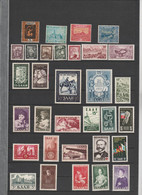 Sarre  - Saar  - Petite Collection De Timbres Neufs  N* ( Traces De Charnieres) 53 Timbres - Collections, Lots & Series