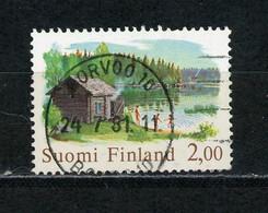 FINLANDE: SAUNA FILANDAIS - N° Yvert 775 Obl - Oblitérés