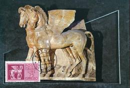 64529 Italia, Maximum 1965, Archeology  Winged Horses, Chevaux Ailès, Beflugelten Pferde, - Archéologie