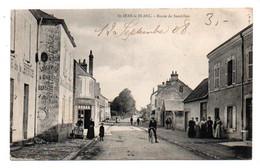 Carte Postale Ancienne - Dép. 45 - SAINT JEAN LE BLANC - Route De SANDILLON - Andere Gemeenten