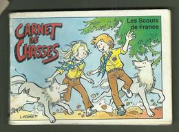 LIVRE EDITION LES SCOUTS DE FRANCE CARNET DE CHASSES LES LOUVETEAUX ET LES LOUVETTES - Other