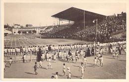 STADE Stadium - 69 - VILLEURBANNE : Le Stade De Football Un Jour De Match - CPA - Estadio Stadion El Stadio Lo Statio - Stadi