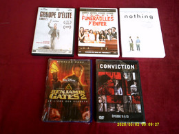 PROMO  5 DVD ° POUR 10 EUROS °  LOT  225 - Collections & Sets