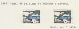 SUEDE USED YVERT 582/82a Dasland & Haverud - Used Stamps