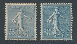 EA-257: FRANCE: Lot  Avec N°132*-161* - 1903-60 Sower - Ligned