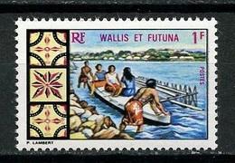 WALLIS FUTUNA 1969 N° 174 **  Neuf MNH Superbe C 1.60 € Petit Bateau Boats Pirogue Transports - Unused Stamps