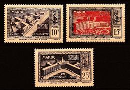 MAROC PROTECTORAT 1951 Y&T N° 302 à 304 N* - Unused Stamps
