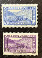 AFR162 Andorre Français N°40 Et 44 Neuf ** Parfait état - Unused Stamps