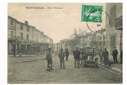 05- 2021 - SELECT - BOUCHES DU RHONE - 13 - SAINT CANNAT - Route Nationale - Belle Animation - Andere Gemeenten