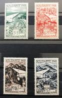 MAROC 1949 - NEUF**/MNH - Série Complète YT PA 70 / 73 - CV 8 EUR - Posta Aerea