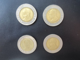 LOT THAÏLANDE : 4 X 10 BAHT 2532 , 2545 , 2547 Et 2548 (KM) Y 227 * - Alla Rinfusa - Monete