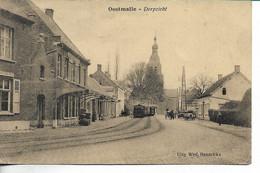 Oostmalle Dorpzicht Met Stoomtram - Malle