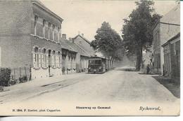 Rijkevorsel Steenweg Op Gammel Stoomtram Hoelen 1844 - Rijkevorsel