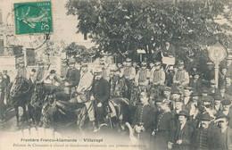 54) VILLERUPT : La Frontière Franco-Allemande Pelton De Chasseur Et Gendarmes (EB) - Andere Gemeenten