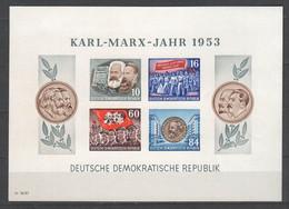 DDR , Block 9 B Postfrisch - Blocks & Sheetlets