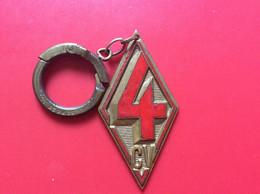 PORTE-CLES   RENAULT  4 Cv   6 - Key-rings