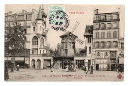 CPA F.Fleury 416 . Le Moulin Rouge  XVIII Arr  Boulevard De Clichy Place Blanche Timbre Sage 5c 1905 - Altri