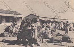 CARTOLINA  CHEREN,ERITREA,AFRICA,CARICO DI UN CAMMELLO,BELLA ITALIA,CULTURA,STORIA,RELIGIONE,MEMORIA,VIAGGIATA 1914 - Eritrea