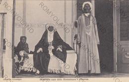 CARTOLINA  CHEREN,ERITREA,AFRICA,SCIARIFFA CAPO DELLE MUSSULMANE,BELLA ITALIA,STORIA,RELIGIONE,MEMORIA,VIAGGIATA 1915 - Eritrea