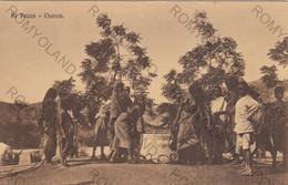 CARTOLINA  CHEREN,ERITREA,AFRICA,AL POZZO,BELLA ITALIA,STORIA,RELIGIONE,MEMORIA,CULTURA,IMPERO,VIAGGIATA 1915 - Eritrea