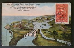 "Panama 1930, Post Card ""Panama Canal"" - Panama"
