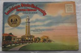 Souvenir Folder Of Louisiana State University And Baton Rouge C 1937, 18 Vues - Baton Rouge