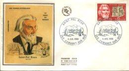 FDC Saint Pol Roux - Camaret Sur Mer (29) - 6 Juil. 68 - Illustration Chesnot - 1960-1969