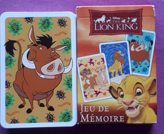DISNEY JEU De Mémoire / MEMORYSPEL / LION KING / Gezelschapspel   4+ 2-8 Spelers - Rompicapo