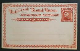 Neufundland, Ganzsache Ungebraucht - Postal Stationery