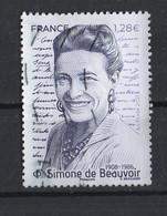 France  2021  YT / 5473  Simone De Beauvoir - Gebruikt