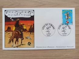 N°3546 - FDC -Fête Du Timbre 2003 Lucky Luke - 2000-2009