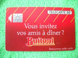 7095 Télécarte Collection BUITONI  Sauce    50u  ( Recto Verso)  Carte Téléphonique - Alimentazioni